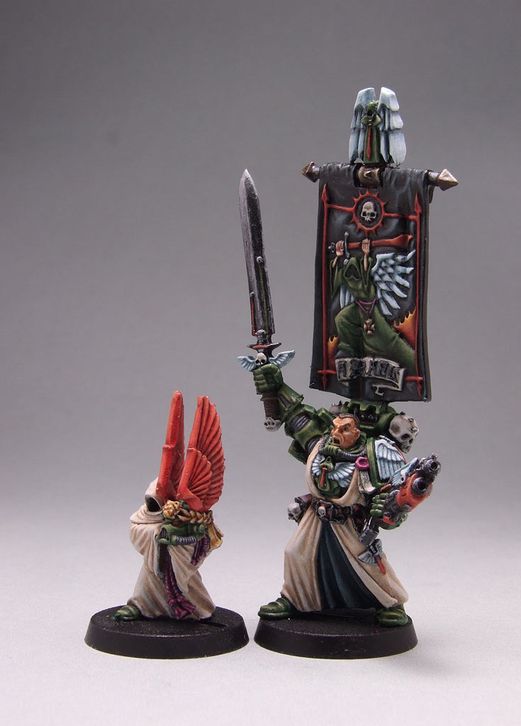 Photo 2 - Azrael, the Supreme Great Magister of Dark Angels