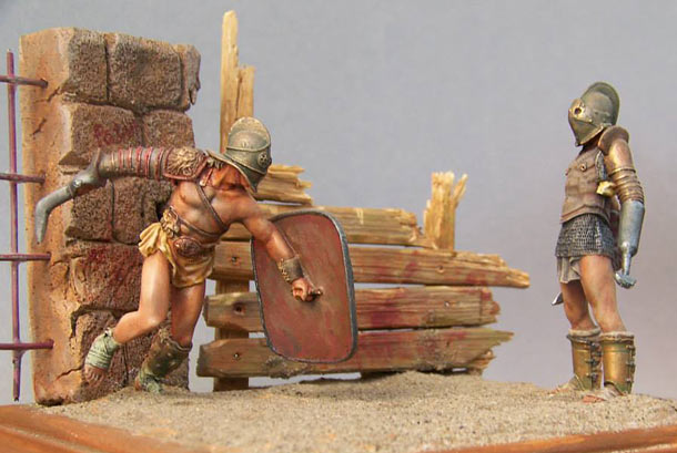 Dioramas and Vignettes: Blood and sand