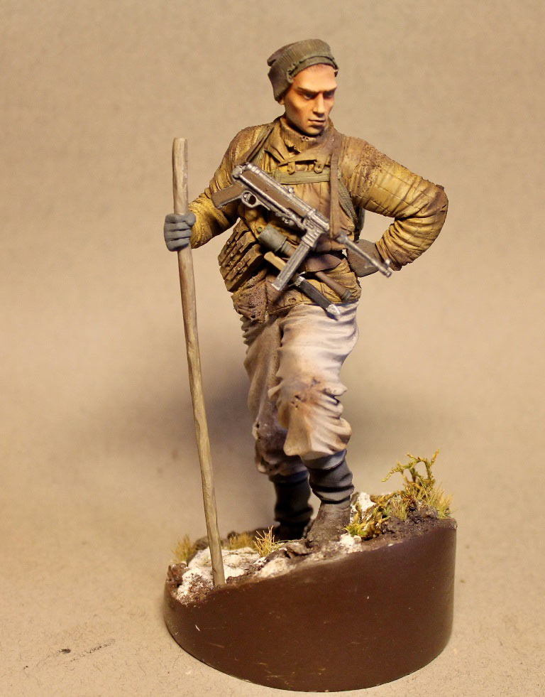 Figures: Red Army scout, sgt. Nikonov, photo #1