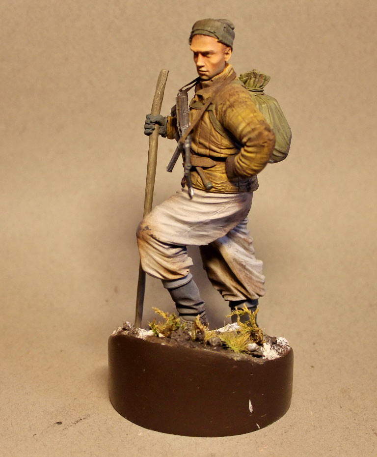 Figures: Red Army scout, sgt. Nikonov, photo #2
