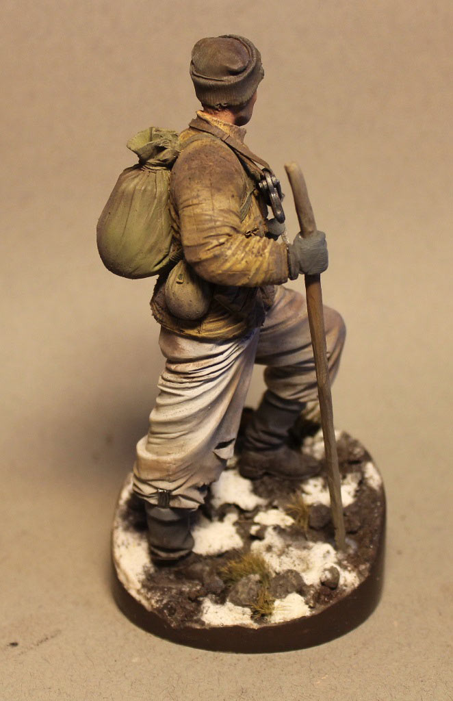 Figures: Red Army scout, sgt. Nikonov, photo #5