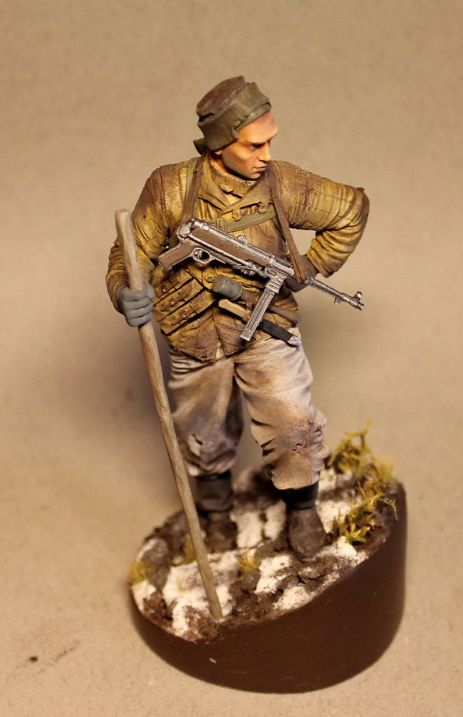 Figures: Red Army scout, sgt. Nikonov, photo #7