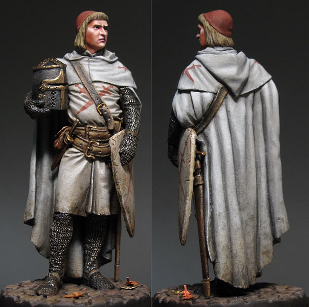 Figures: Livonian knight