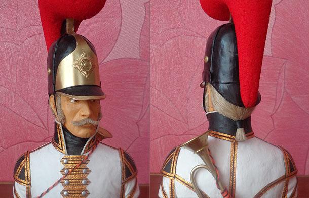 Sculpture: Bugler, Order's Quirassiers regt.