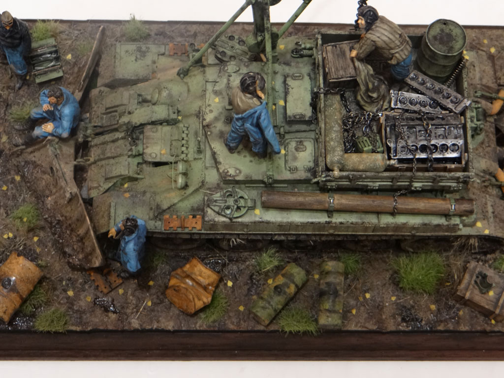 Dioramas and Vignettes: Armored recovery vehicle, photo #10