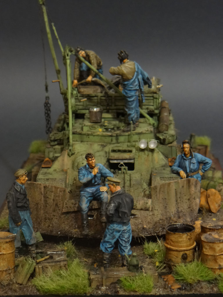 Dioramas and Vignettes: Armored recovery vehicle, photo #11