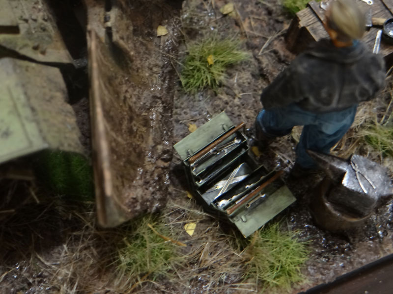 Dioramas and Vignettes: Armored recovery vehicle, photo #12