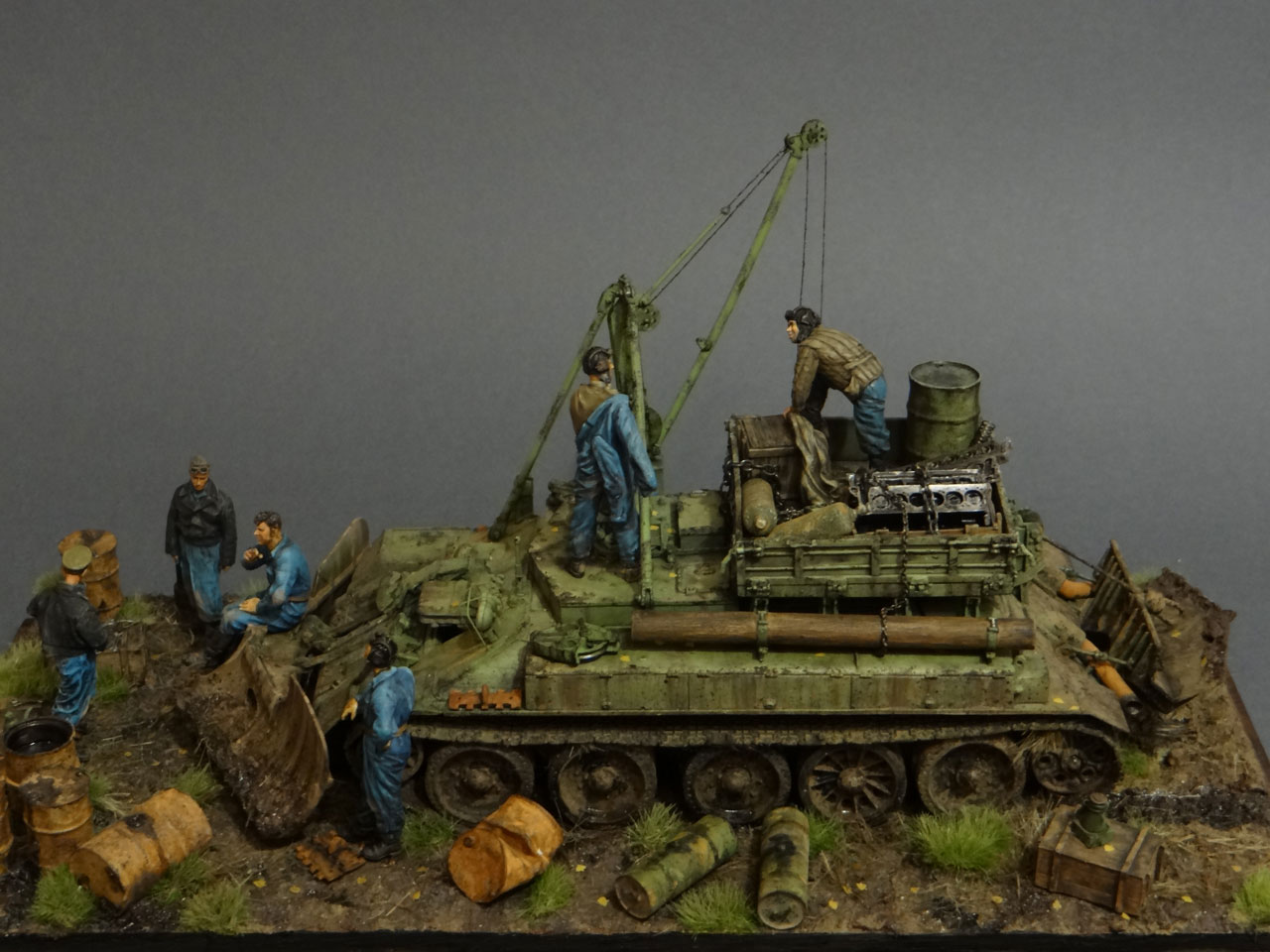 Dioramas and Vignettes: Armored recovery vehicle, photo #2