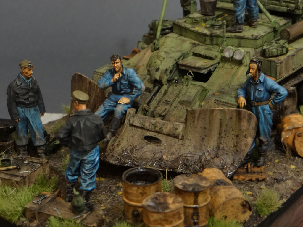 Dioramas and Vignettes: Armored recovery vehicle, photo #4