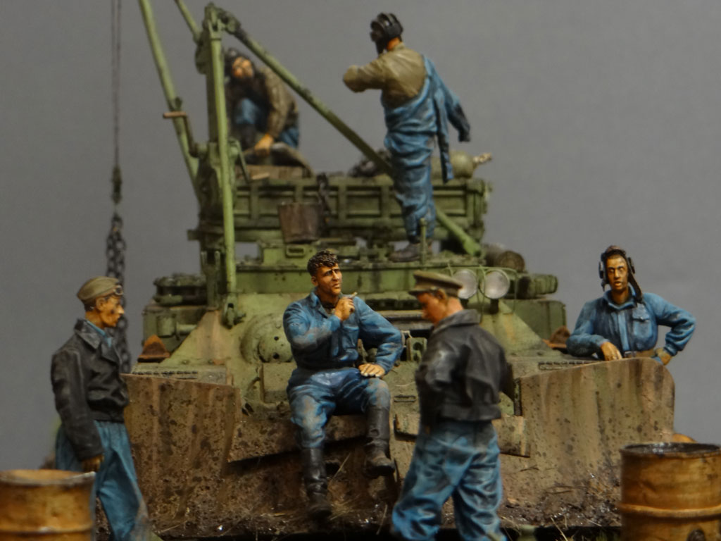 Dioramas and Vignettes: Armored recovery vehicle, photo #5