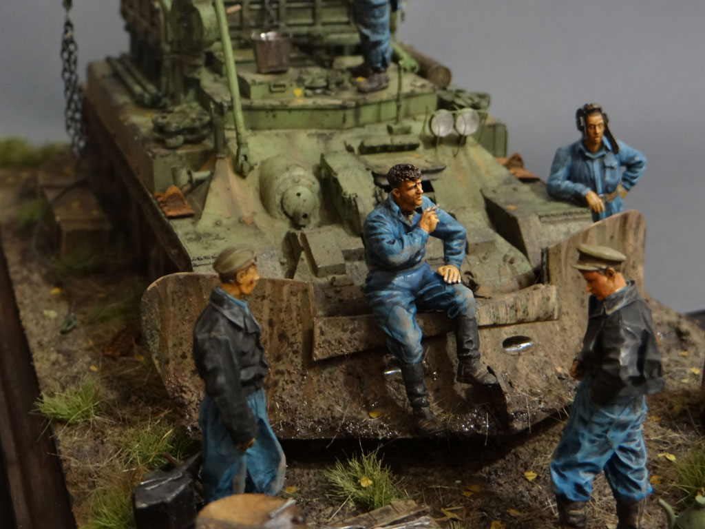 Dioramas and Vignettes: Armored recovery vehicle, photo #6