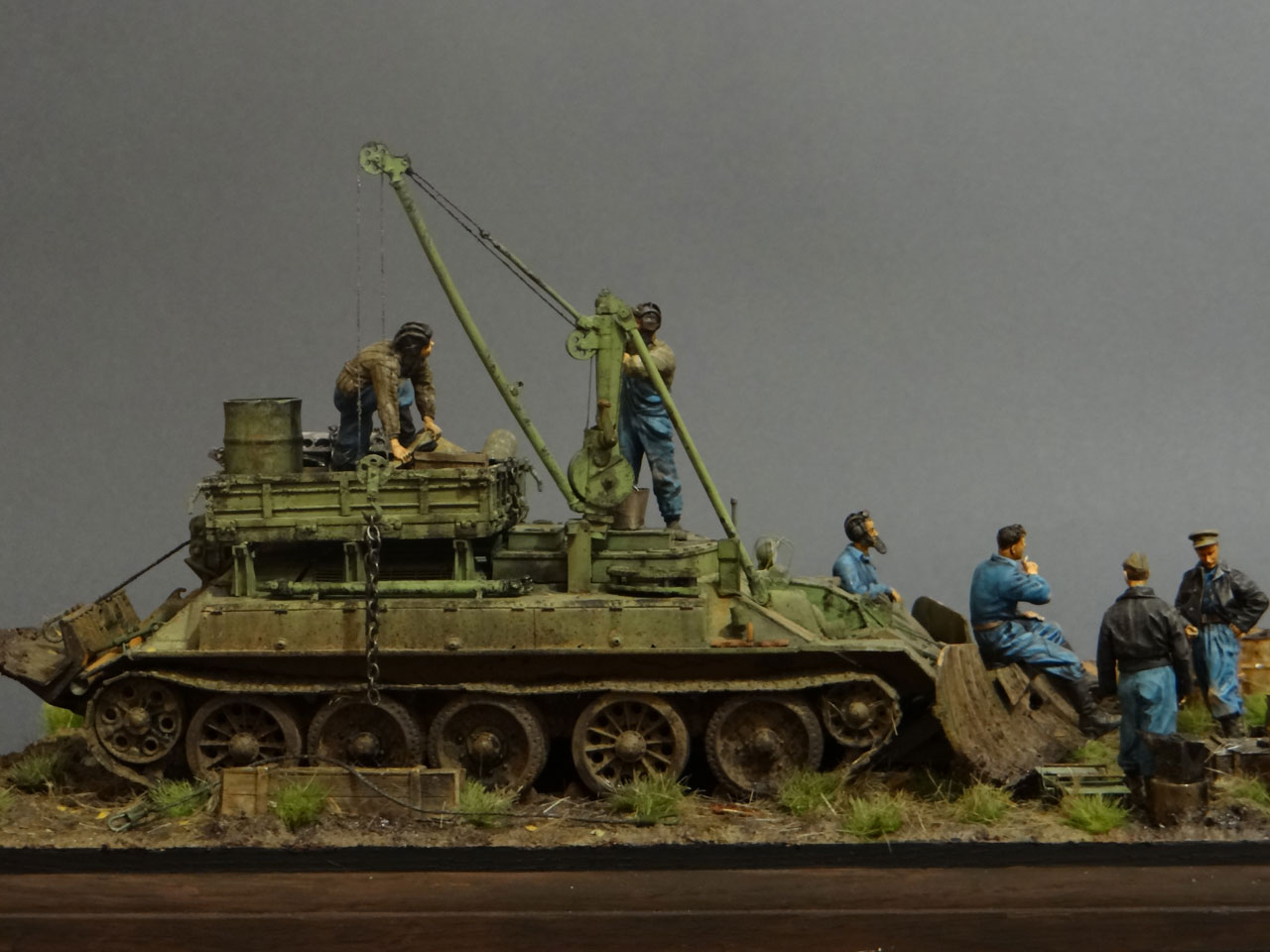 Dioramas and Vignettes: Armored recovery vehicle, photo #8