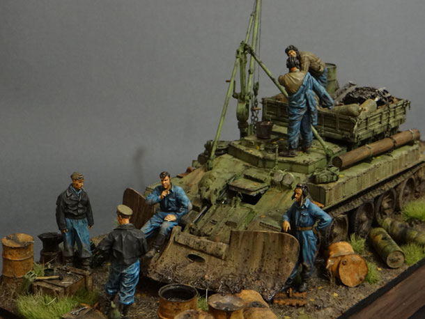 Dioramas and Vignettes: Armored recovery vehicle