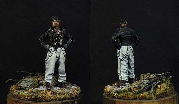 Figures: LSSAH Panzer NCO