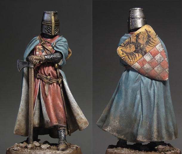 Figures: German knight, 13th A.D.