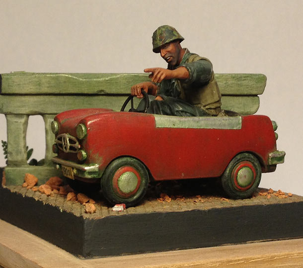 Dioramas and Vignettes: The Driver