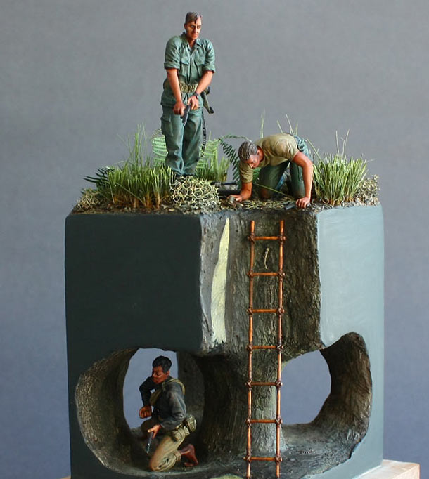 Dioramas and Vignettes: Catch me if you can!