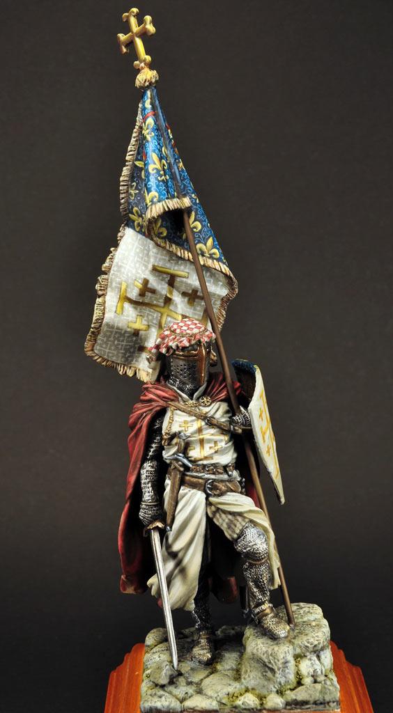Figures: Standard bearer of Charles I of Naples, photo #2