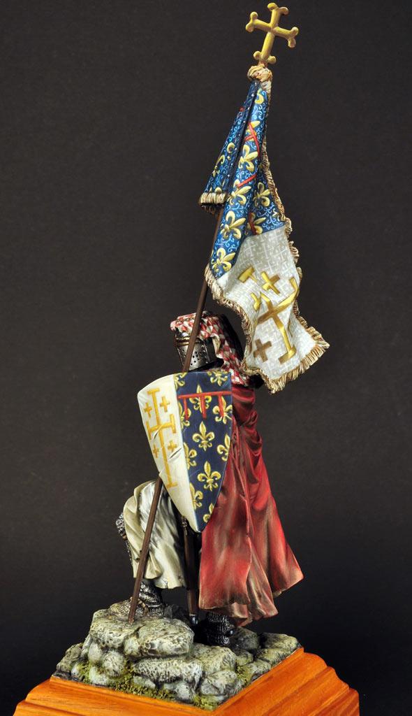 Figures: Standard bearer of Charles I of Naples, photo #5