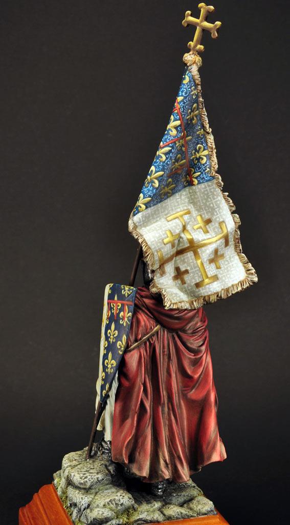 Figures: Standard bearer of Charles I of Naples, photo #7