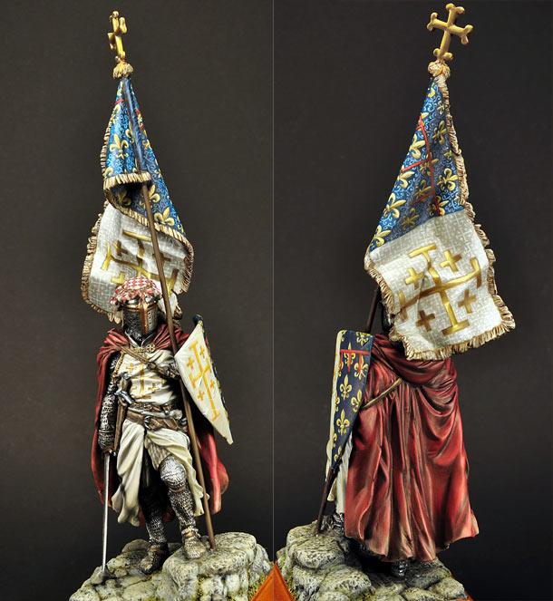 Figures: Standard bearer of Charles I of Naples