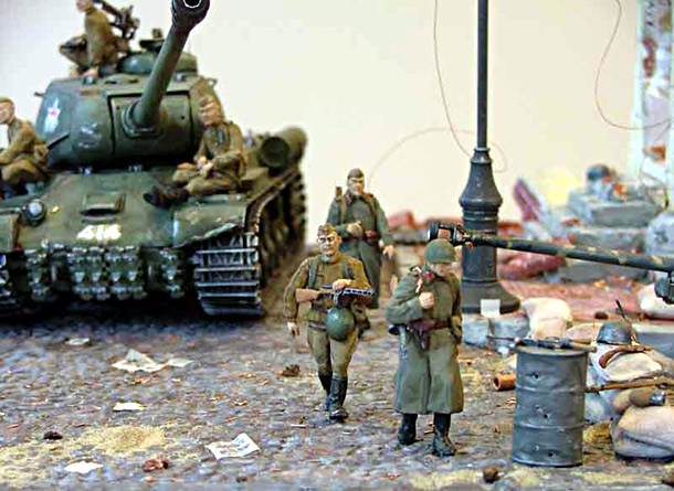 Dioramas and Vignettes: May 1945