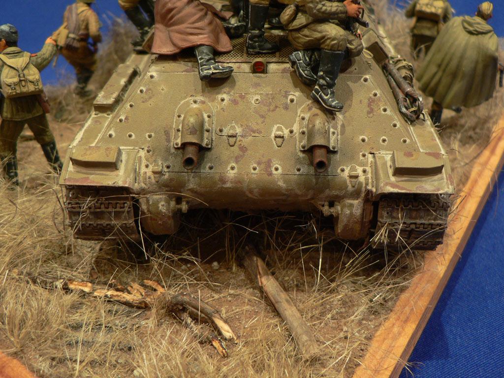 Dioramas and Vignettes: Soviet tank riders, photo #14
