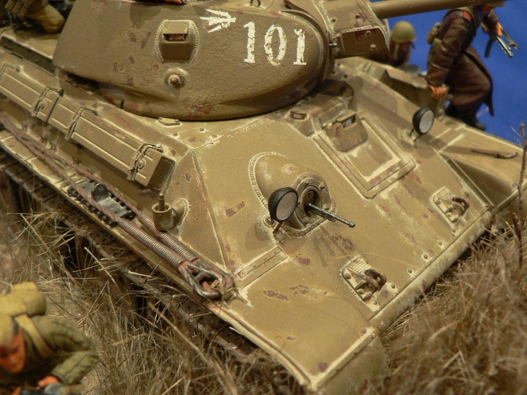 Dioramas and Vignettes: Soviet tank riders, photo #21