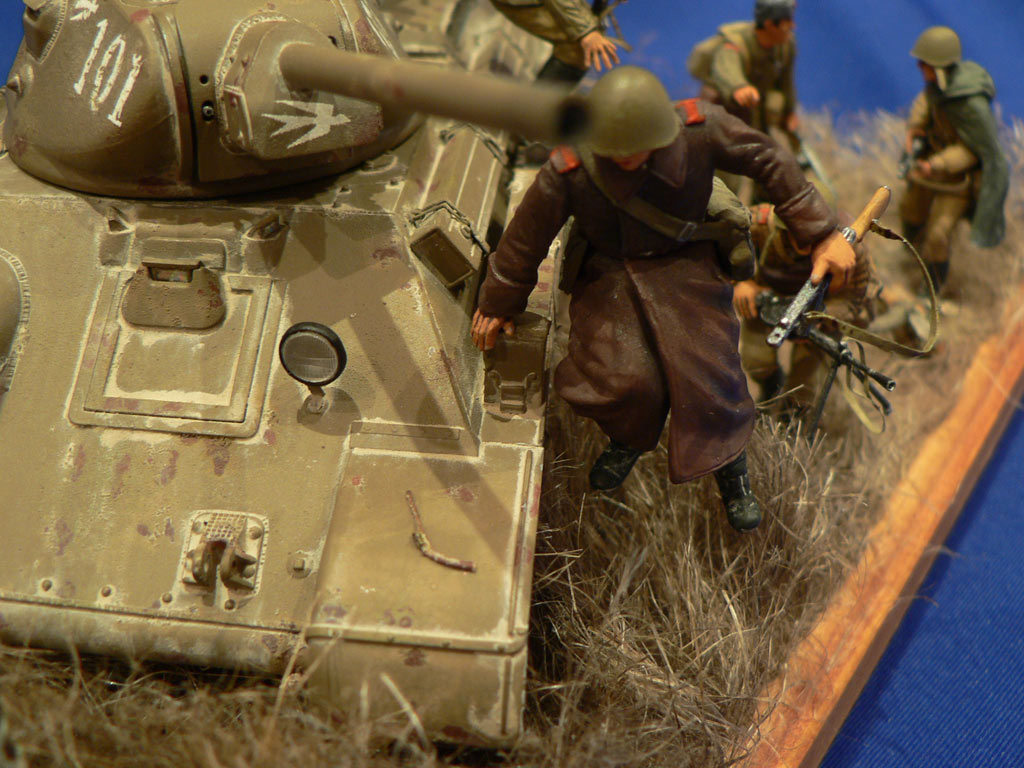 Dioramas and Vignettes: Soviet tank riders, photo #22