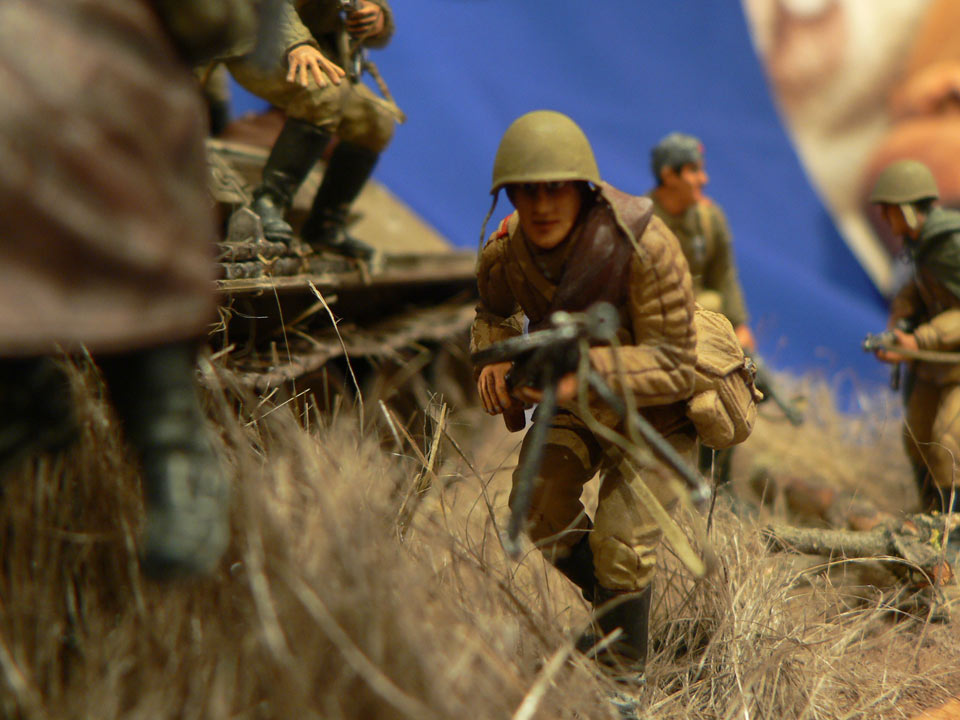 Dioramas and Vignettes: Soviet tank riders, photo #23