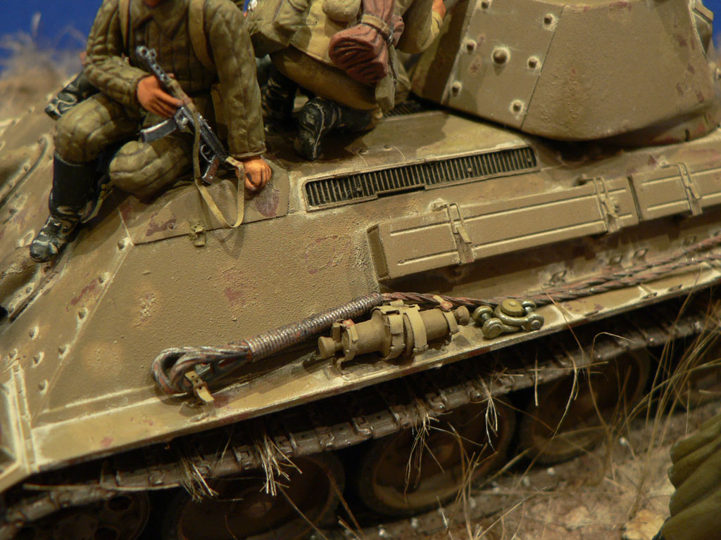 Dioramas and Vignettes: Soviet tank riders, photo #27