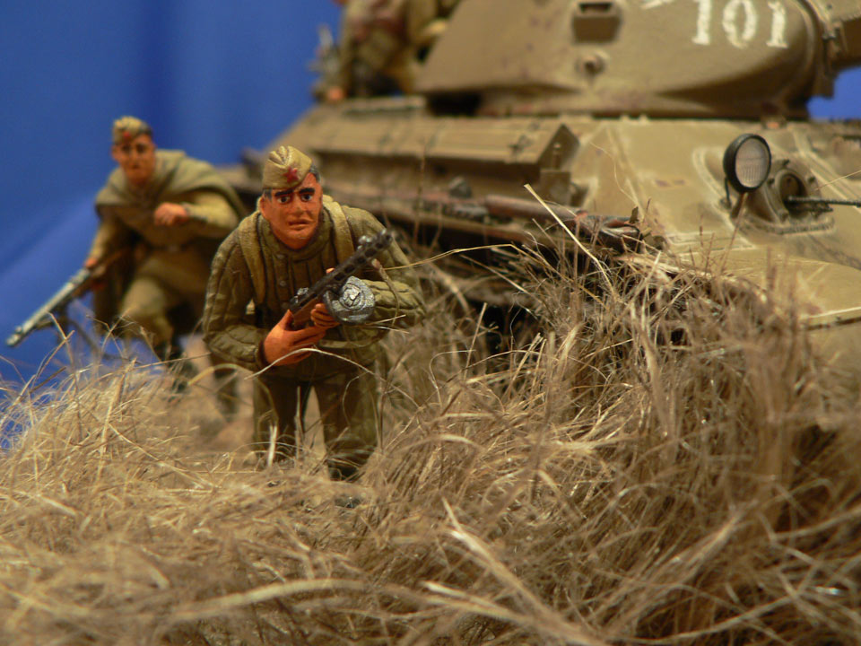Dioramas and Vignettes: Soviet tank riders, photo #30