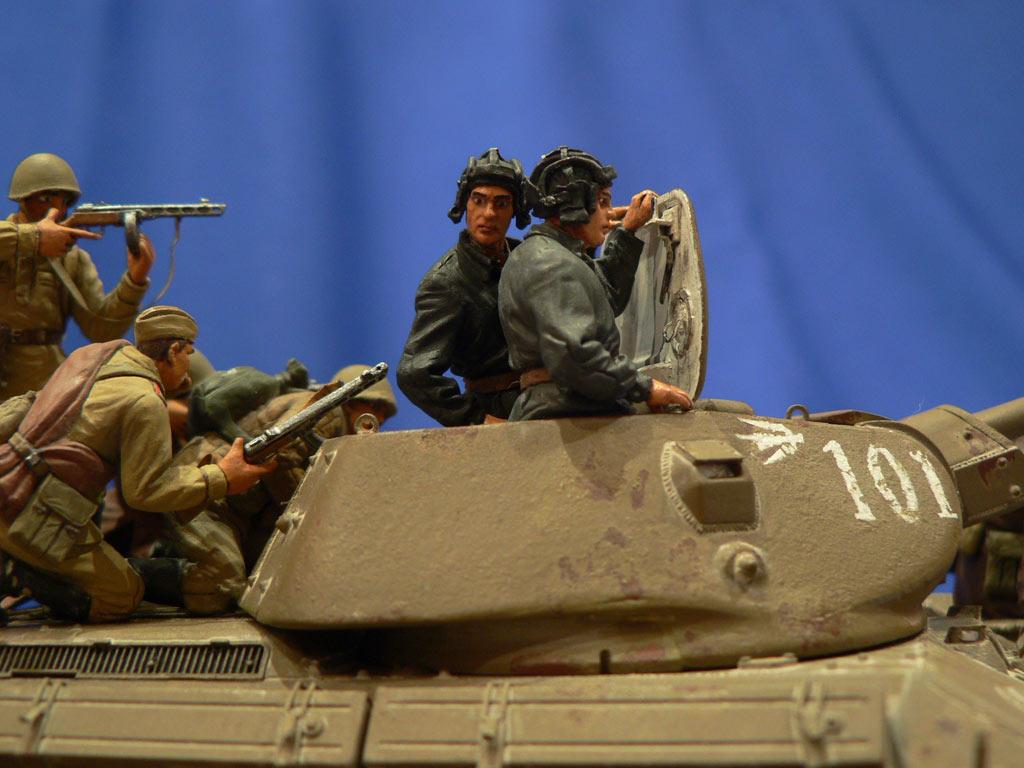 Dioramas and Vignettes: Soviet tank riders, photo #32