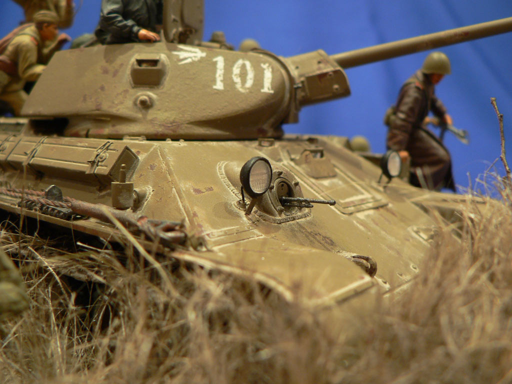 Dioramas and Vignettes: Soviet tank riders, photo #34