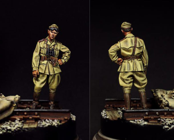 Figures: Italian tank crewman