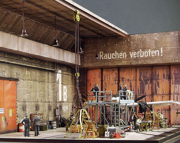 Dioramas and Vignettes: Lachs-Reimahg factory, 1946