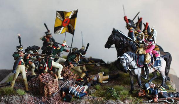 Dioramas and Vignettes: Battle of Semyonovsky ravine