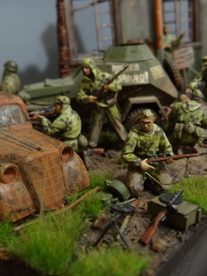 Dioramas and Vignettes: Recon raid, photo #15