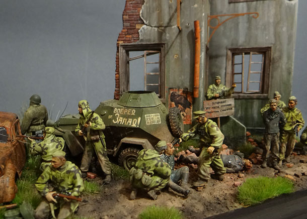 Dioramas and Vignettes: Recon raid