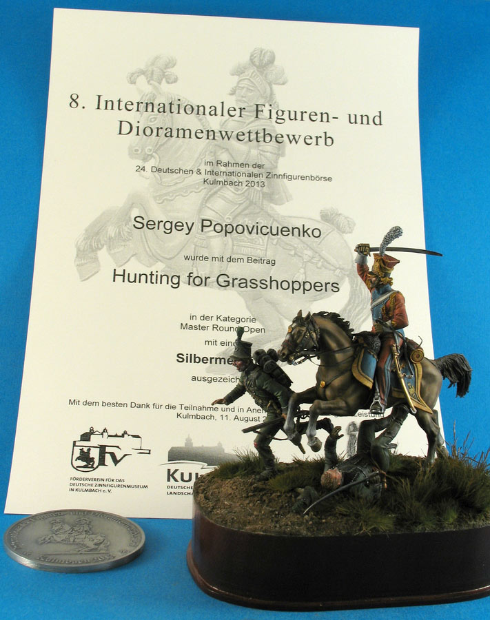 Dioramas and Vignettes: Hunting for the Grasshopers, photo #22
