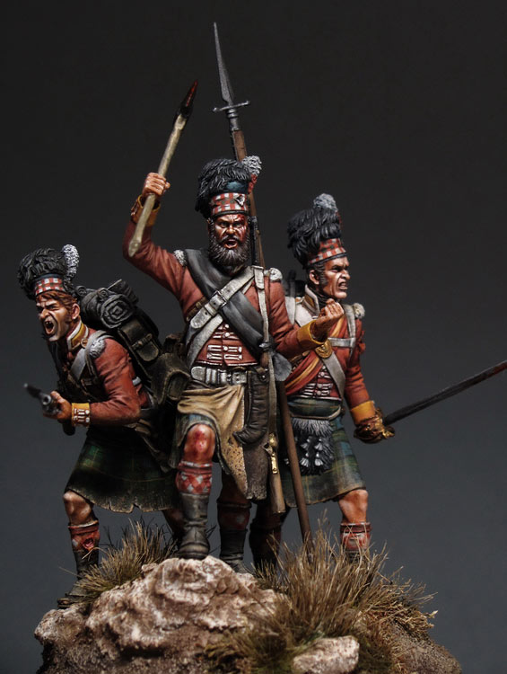 Dioramas and Vignettes: Scottish Fury, photo #1