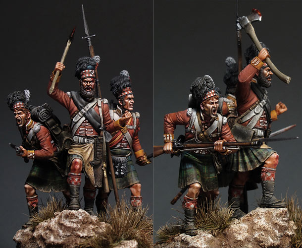 Dioramas and Vignettes: Scottish Fury