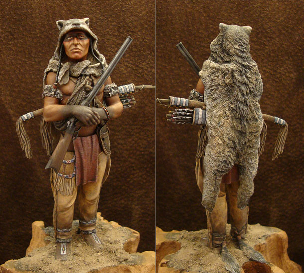Figures: Cheyenne Wolf Scout