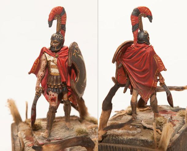 Figures: Thespian hoplite