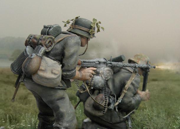 Dioramas and Vignettes: Machine Gunners
