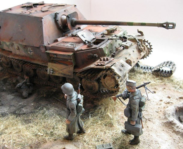 Dioramas and Vignettes: Kursk bulge. The Retreat