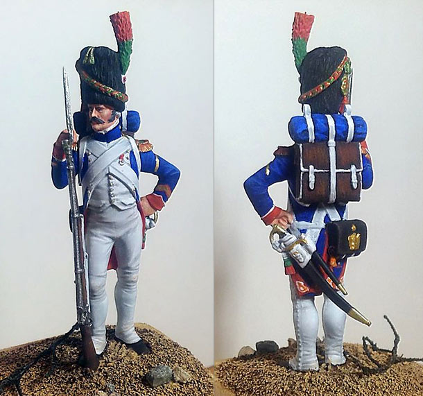 Training Grounds: Sergeant, foot chasseurs of Guard