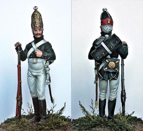 Figures: Grenadier, 1st Naval regt., 1803-07