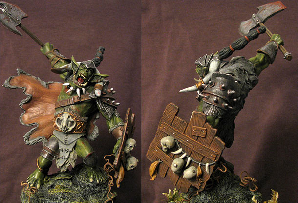 Miscellaneous: Orc. The skull hunter