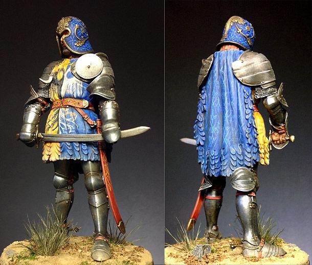 Figures: Venetian knight